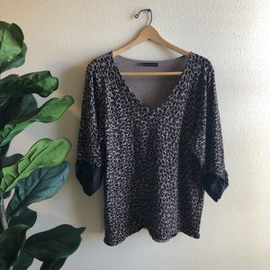 Plus size 2 Maurice's Leopard Sweater